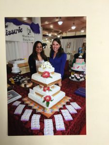 Wedding Cakes at the Bridal Expo
